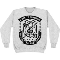 A Day To Remember Men's  Snake Pit Ash Grey Sweatshirt Grey
