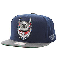The Mitchell & Ness Hall of Fame Hat in Blue