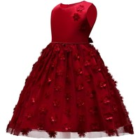 Children's Christmas Dresses For Girls Wedding Party Baby Girl Princess Birthday Dress 1-8 years Girl Clothing