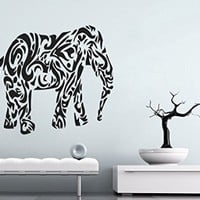 Wall Decals India Elephant Decal Vinyl Sticker Home Art Bedroom Home Decor Ms309