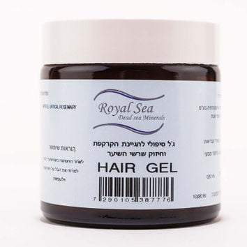 A therapeutic gel for maintaining scalp hygiene and strengthening hair roots natural