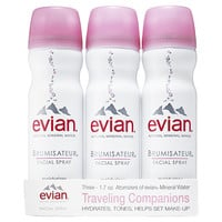 Evian Travel Trio (3 x 1.7 oz)