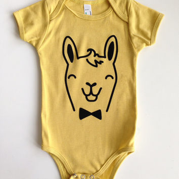 3-24 Mos. Cheerful Creatures Collection | Organic Cotton Kids One-Piece | Color: DIJON | Choose Your Animal