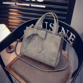 Stylish Simple Design Butterfly Decoration Bags One Shoulder Tote Bag [8226878215]