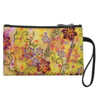 Flower Power Mini Clutch Bag