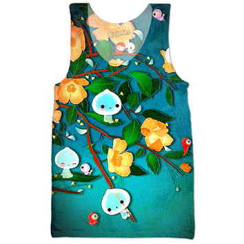 Kawaii ghosties — tank top