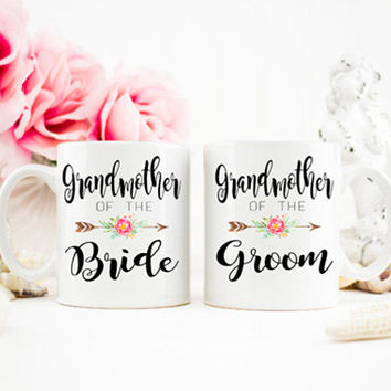 Grandmother of the Bride, Grandmother of the Groom, Grandparent Gifts, Wedding Mug, Gift for Mom, Bridal Party Gift, Coffee Mugs, AAA_001