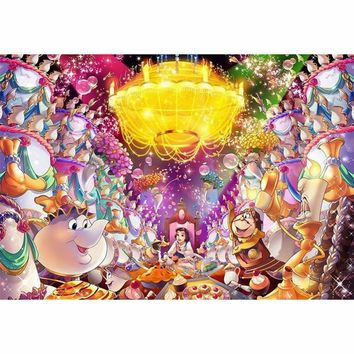 5D Diamond Painting Be Our Guest Beauty and the Beast Kit