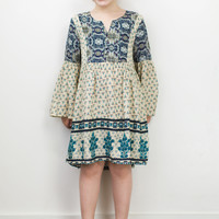 Girls Peasant Dress
