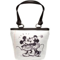 Harveys Seatbelt Bag Carriage Ring Tote Disney Mickey and Minnie Mouse in Love