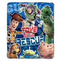 Disney, Toy Story, Rescue Mission 46-Inch-by-60-Inch Micro-Raschel Blanket by The Northwest Company