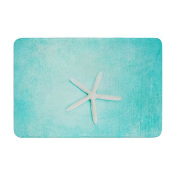 "Sylvia Cook ""Starfish"" Memory Foam Bath Mat - Outlet Item"