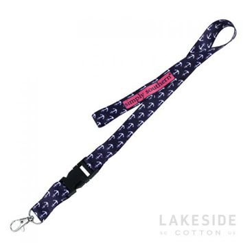 Anchor Lanyard | Lakeside Cotton