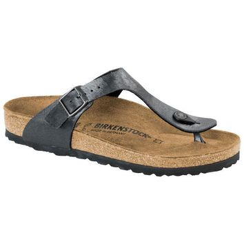 Sale Birkenstock Gizeh Birko Flor Animal Fascination Slate 1006655/1006656 Sandals