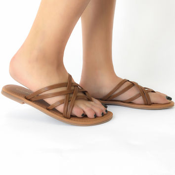 Cruise Control Sandals in Tan