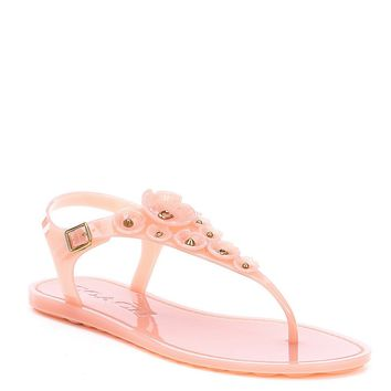 COACH TEA ROSE JELLY SANDAL | Dillards