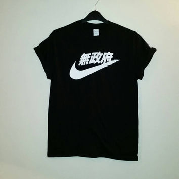 unisex nike japan t shirt sz large festival fashion ibiza