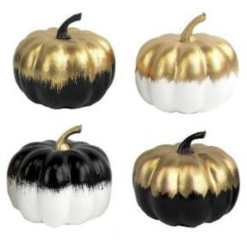 4ct Mini Pumpkin Decor - Bullseye's Playground™