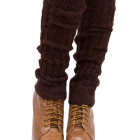 Liv Leg Warmers - Chocolate - One Size / Chocolate