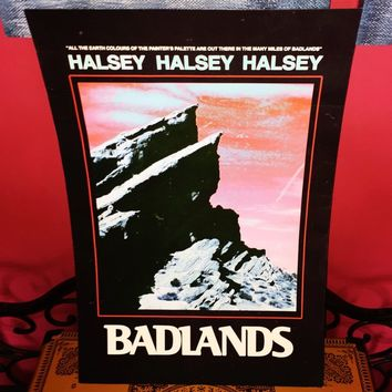 "Exclusive Halsey Badlands poster. 18"" x 12"" These were only ..."
