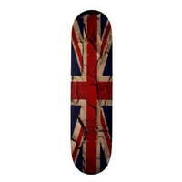 Dirty Vintage UK Skateboard from Zazzle.com
