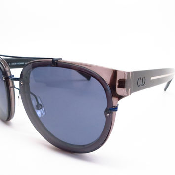 Dior Blacktie 143S NL372 Grey Black Crystal Sunglasses