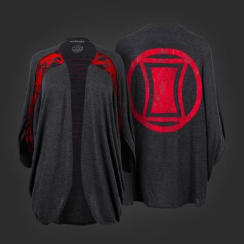 Welovefine:Marvel Black Widow Dolman Shrug
