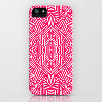 Radiate (Coral) iPhone Case by Jacqueline Maldonado | Society6