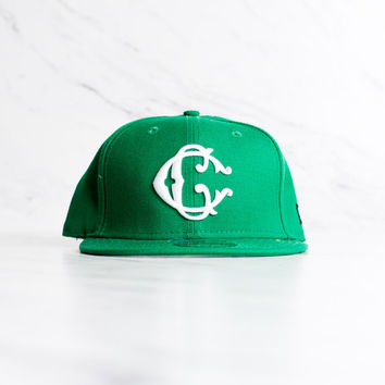 New Era x Crooks & Castles 59 Fifty - 'Green'