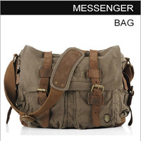 Canvas Messenger Bags for Women and Men
