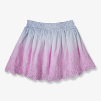 Ombré Eyelet Skirt (Kids)