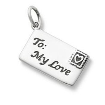 Enamel Love Letter Charm | James Avery