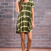 You Win My Love Dress, Olive