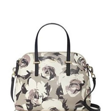 Kate Spade New York Cedar Street Rose Print Maise Satchel