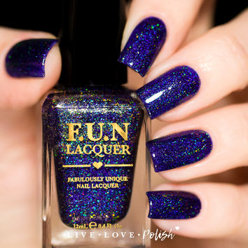 FUN Lacquer City Lights Nail Polish (Midnight In Manhattan Collection)