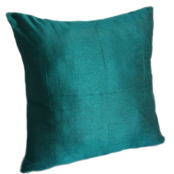Solid Teal Pillows Plain Teal Pillow Solid Teal Decorative Pillow Teal Accent Pillow Light Teal Pillow Cover Solid Teal Throw Pillow