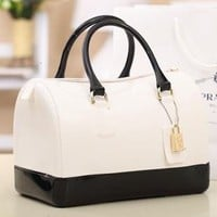 Popular Chic New Lovely Jelly Candy Bag Satchel Bag Pillow Jelly Bag Handbags
