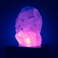 "Himalayan Salt Lamp - ""Feng Shui"" Salt Crystal (Halite) LED - 4 inch"