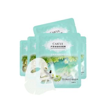 Face Mask  1 PC Aloe Plant Collagen