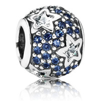Pandora Follow the Stars Charm with Midnight Blue Crystal