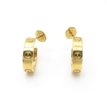 Cartier Love Earrings 18K Yellow Gold 6364