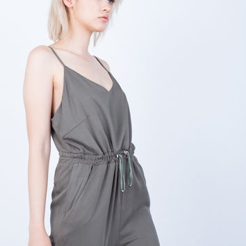 The Olive Jumpsuit