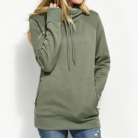 Empyre Anneleen Tech Fleece Green Hoodie | Zumiez