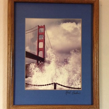 Impact- Vintage Mark Reuben Professionally Framed San Francisco Photo