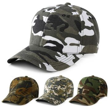 Camouflage cap Army cap Snapback Bones Airsoft cap cotton Adjustable dad hats Men Women Baseball Cap b096
