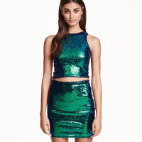 Glittery Skirt - from H&M