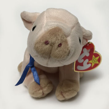 TY Beanie Baby - Knuckles The Pig