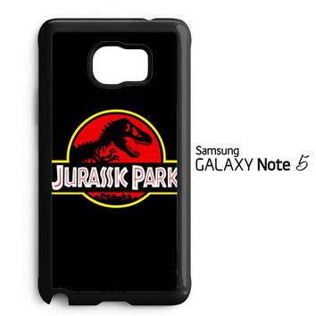 Jurassic Park Movie Plate vintage 4 Y0009 Samsung Galaxy Note 5 Case