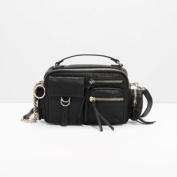 & Other Stories | Six Pocket Satchel Bag | Black