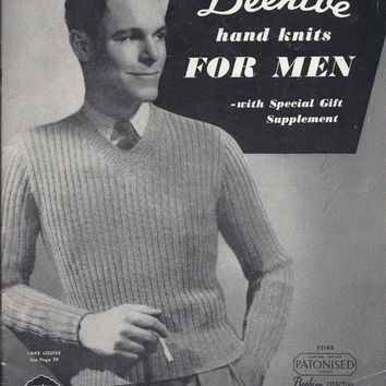 Best Mens Vintage Knitting Patterns Products On Wanelo